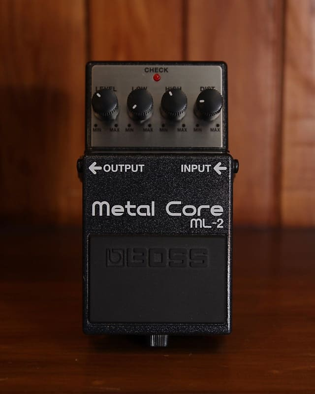 boss ml 2 metal core distortion pedal pre owned reverb. Black Bedroom Furniture Sets. Home Design Ideas