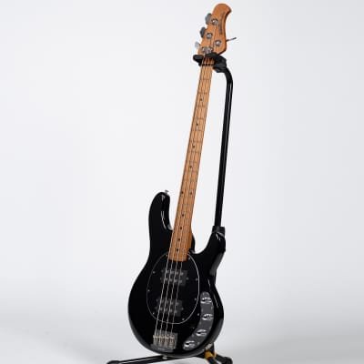 Ernie Ball Music Man StingRay Bass Guitar - Black for sale