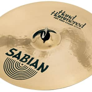 "Sabian 16"" HH Medium Thin Crash Brilliant"