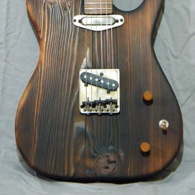 XIII Guitars Custom Shop SFT Barn Burner 2021 Natural Oil Finish Tele Style Guitar 100 Year Old Pine for sale