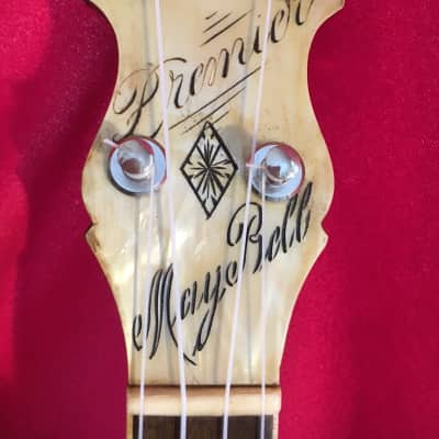 """Vintage Slingerland """"Maybell Premier"""" Banjo Ukulele, 1930s, OHSC, VGC for sale"""
