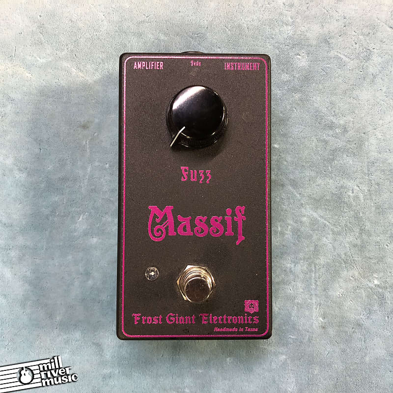 Frost Giant Electronics Massif Fuzz Effects Pedal