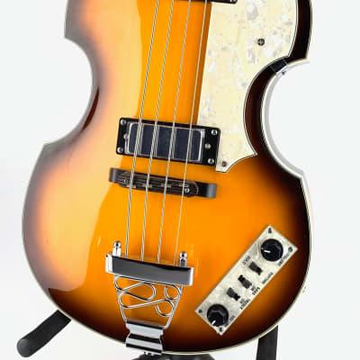Jay Turser Violin Bass (Beatle Bass) in Sunburst for sale