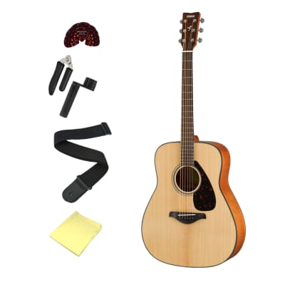 Yamaha FG800 Acoustic Guitar Bundle - with Accessories