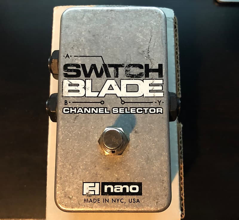 electro harmonix switchblade nano passive channel selector reverb. Black Bedroom Furniture Sets. Home Design Ideas