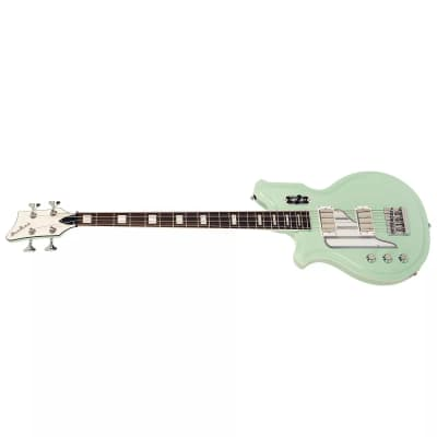 Eastwood Airline Map Bass Long Scale Left-Handed