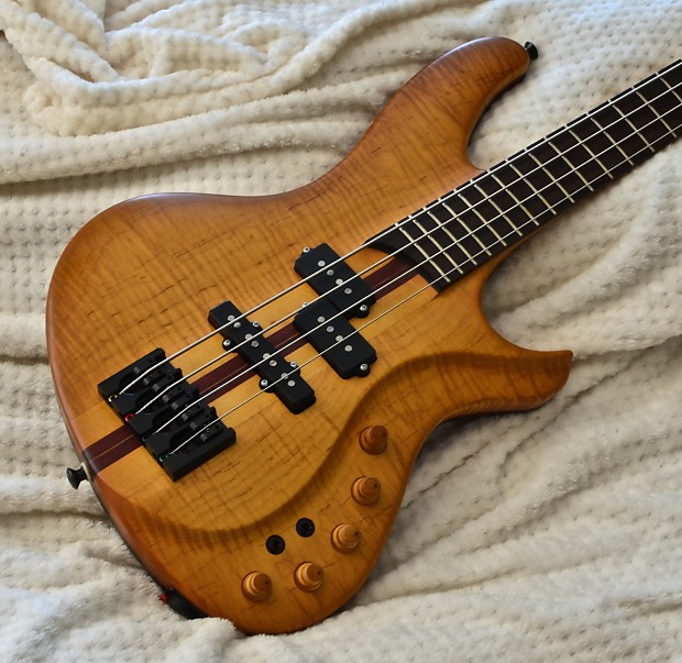 little guitar works torzal twisted neck bass for tendonitis reverb