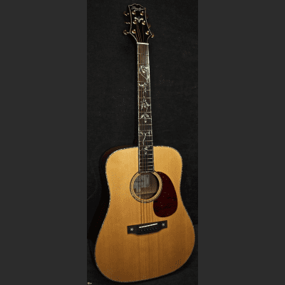 Peerless PD-70 Acoustic Guitar Blonde 801034 for sale