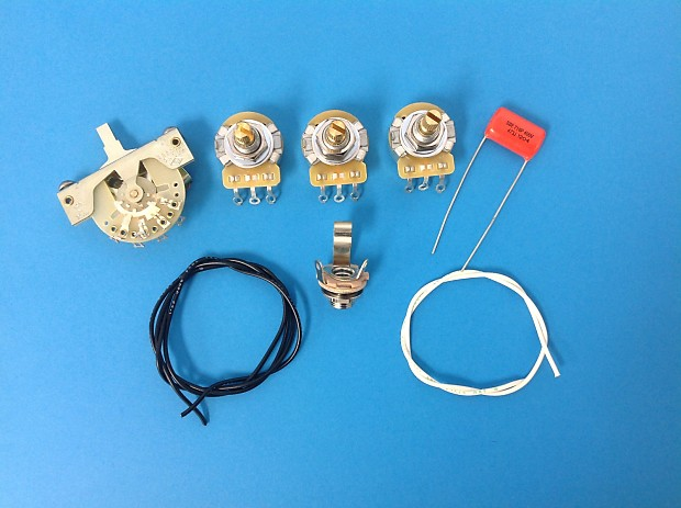 Am Guitar Works Stratocaster Strat Wiring Kit