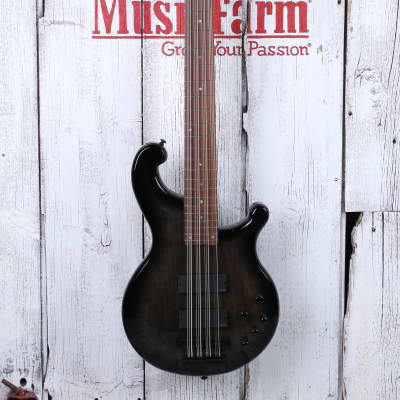 Dean Rhapsody 12 Trans Black 12 String Electric Bass Guitar EMG HH RH12 TBK
