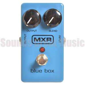 MXR Blue Box Octave Fuzz M103 for sale