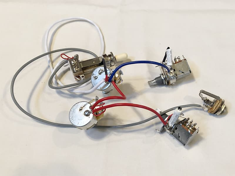 New Les Paul Wiring Harness Complete Push