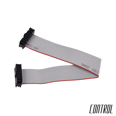 Control 16-pin to 16-pin Power Ribbon Cable - 12-inches / 305mm