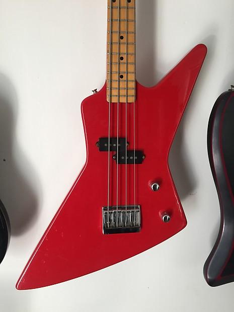 arbor explorer bass 1980 39 s red reverb. Black Bedroom Furniture Sets. Home Design Ideas