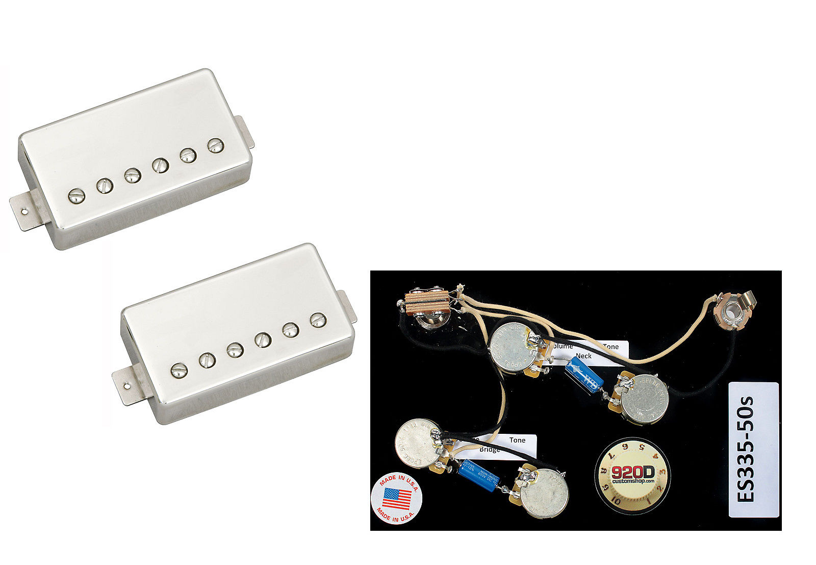 920d Custom Shop Bok 11108 49 N Es335 Seymour Duncan Pearly Reverb Es 335 Wiring Harness