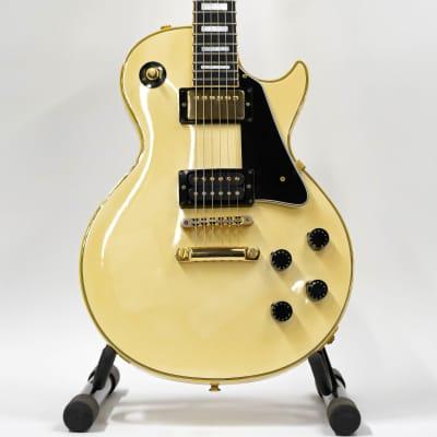 1990 Orville Gibson Diamond Headstock Les Paul Custom MIJ Guitar - White for sale