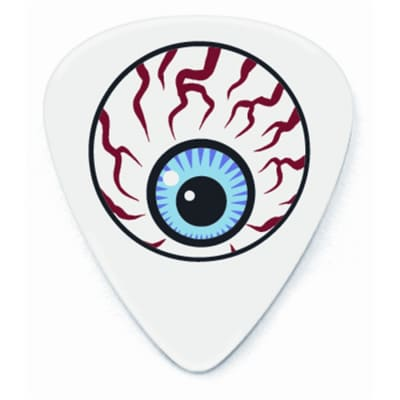 Dunlop BL49R060 Dirty Donny Eyeball Tortex .60mm Guitar Picks (36-Pack)