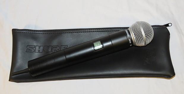 shure u2 sm58 wireless microphone transmitter for u4d u4s ua reverb. Black Bedroom Furniture Sets. Home Design Ideas
