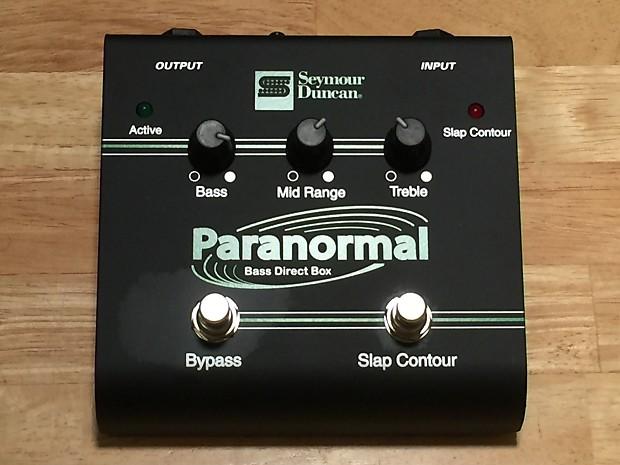 Seymour Duncan SFX-06 Paranormal Bass DI | Reverb