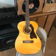 Harmony 319 - 12 string  1970's Aged Natural Satin