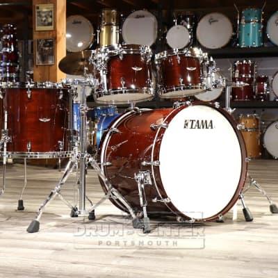 Tama Star Walnut 4pc Drum Set w/22bd Dark Mocha Walnut