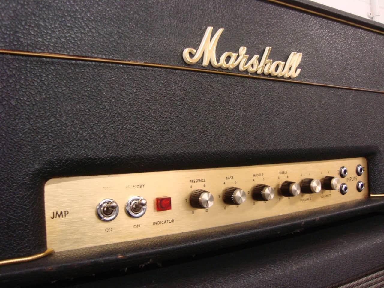 vintage jmp marshall super lead 100w 1971 post plexi lay down reverb. Black Bedroom Furniture Sets. Home Design Ideas
