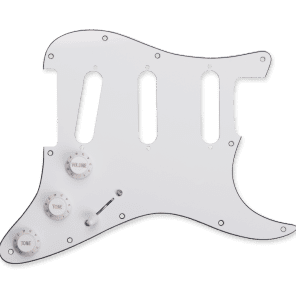 Seymour Duncan BYOP Pickguard Assembly  White