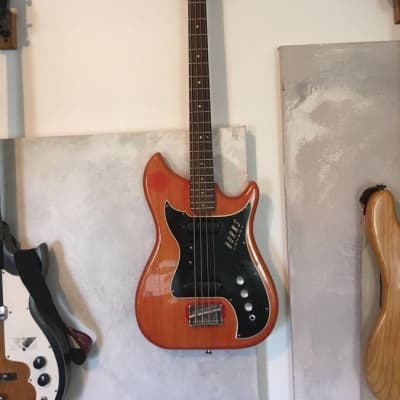 Burns London Nu-Sonic Bass 1964 Cherry Red for sale