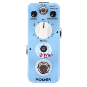 Mooer @Wah Digital Auto Wah Pedal