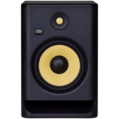 KRK RP8G4 Rokit 8 Generation 4 Powered Studio Monitor, Single Speaker