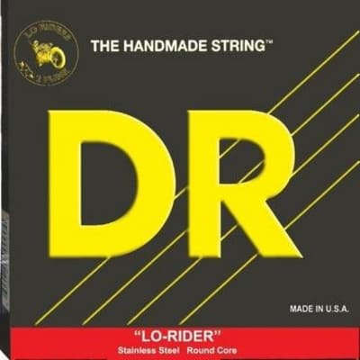 DR LO-RIDER™ - Stainless Steel Bass Strings: Medium 45-105