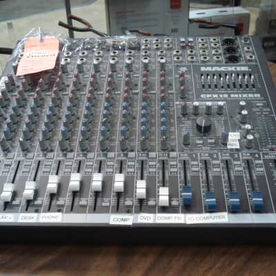 Mackie CFX12 12-Channel Compact Integrated Live Sound Mixer