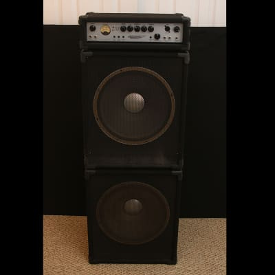 "Custom Bass Stack - Ashdown Mag 600 Head w/ 2x 15"" JBL Speaker Cabs - Amp Cabinets Amplifier MAG600"