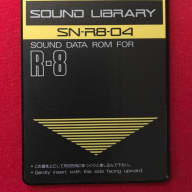 "Roland R8 ""Electronic"" Sound Card (SN-R8-04)"