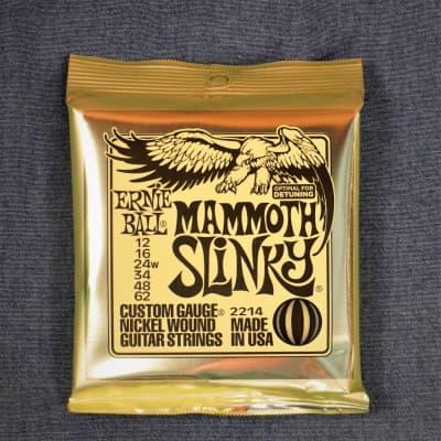 Ernie Ball Mammoth Slinky Nickel Wound Electric Guitar 12-62 Wound G