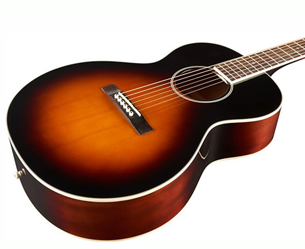 the loar lh 250 small body acoustic guitar in vintage reverb. Black Bedroom Furniture Sets. Home Design Ideas