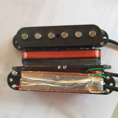 Custom Stacked Single Coil Pickup set for Strat guitars