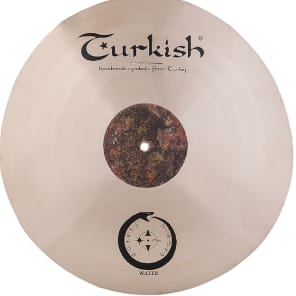 "Turkish Cymbals 20"" Soundscape Series Jarrod Cagwin Water Crash W-C20"