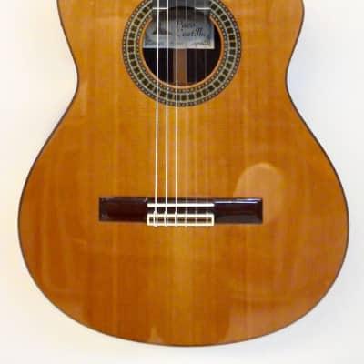Guitare Classique Electro Paco Castillo Mod 224CE Natural Vernis Brillant for sale