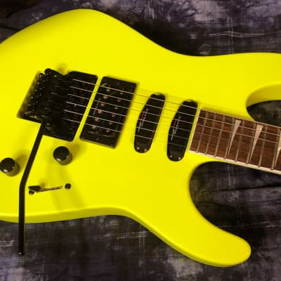 MINT! Jackson X Series Soloist SL3X Electric Guitar Neon Yellow Finish - Authorized Dealer - SAVE!