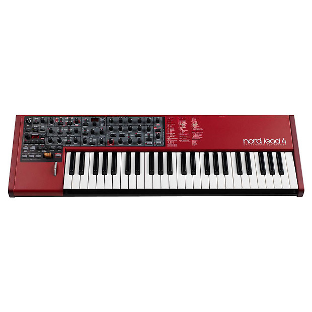 nord lead 4 synthesizer used unique squared reverb. Black Bedroom Furniture Sets. Home Design Ideas