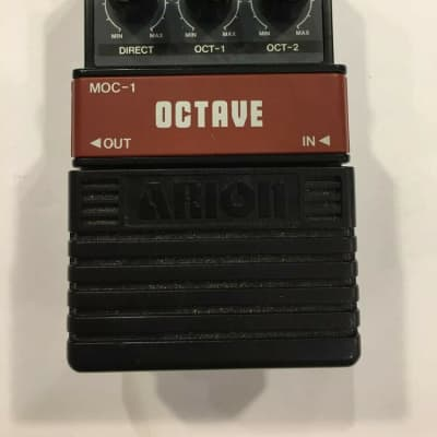 Arion MOC-1 Octave Analog Octaver Rare Vintage Guitar Effect Pedal MIJ Japan for sale