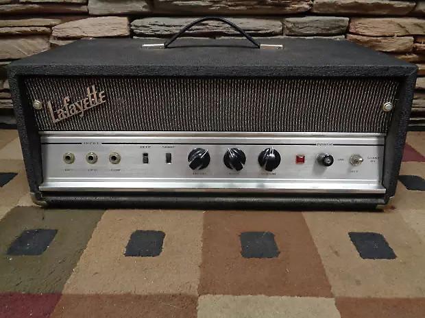 Lafayette Univox 1235 25 Watt 6l6 Guitar Bass