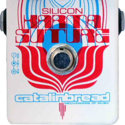 New Catalinbread Karma-Suture Si Silicon Harmonic Fuzz Guitar Effects Pedal!