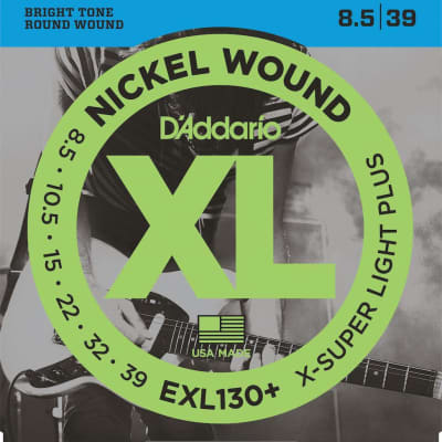 D'Addario XL Nickel Electric Strings - 8.5-39