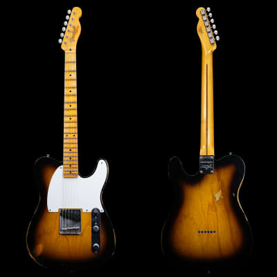 Fender Custom Shop NAMM Limited Edition 1955 Esquire Relic - 2-Tone Sunburst (395) for sale