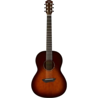 Yamaha CSF1M Parlor Acoustic Guitar - Tobacco Brown Sunburst