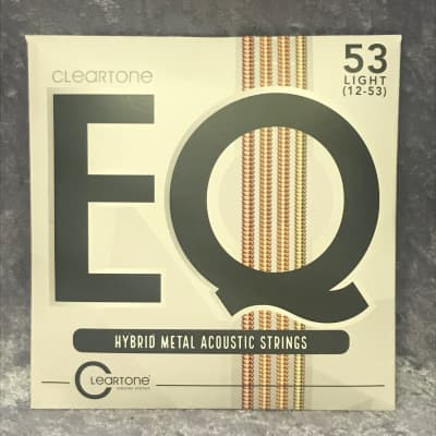 Cleartone EQ 7812 Hybrid Metal Acoustic 12-53 (4 pack)
