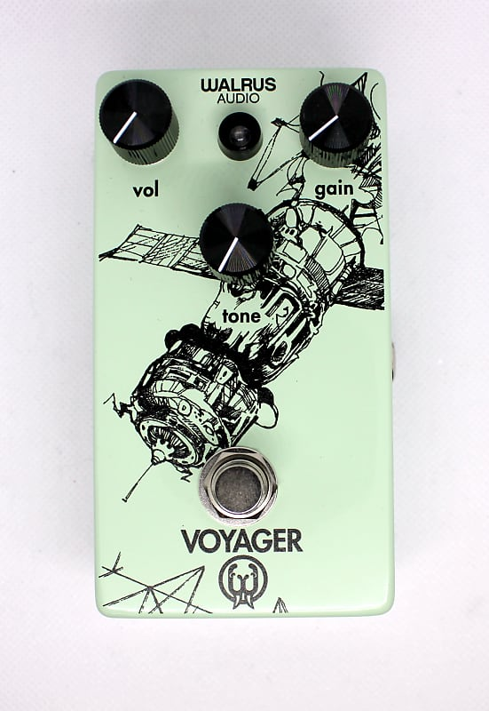 walrus audio voyager overdrive pedal b 39 s music shop reverb. Black Bedroom Furniture Sets. Home Design Ideas