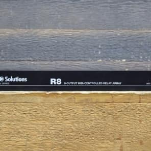 MIDI Solutions R8 Professional Series 8-Output Midi-Controlled Relay Array